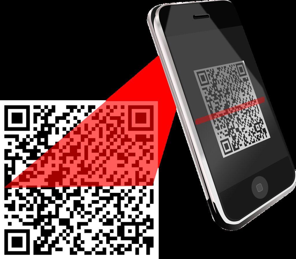 qr code, scanner, bar code